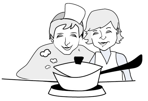 Kochgruppe Familienhelden Lüneburg